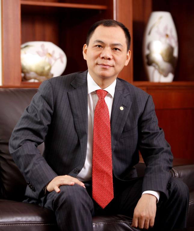 Chủ tịch HĐQT Vingroup Phạm Nhật Vượng