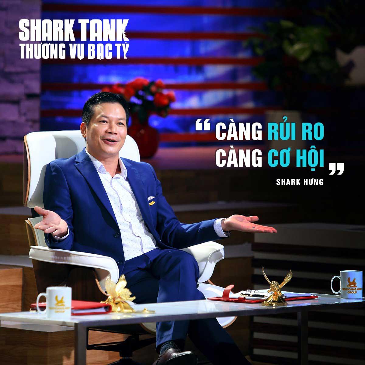 Phạm Thanh Hưng cang rui ro cang co hoi - SHARK PHẠM THANH HƯNG LÀ AI? CON ĐƯỜNG THÀNH CÔNG CỦA PHẠM THANH HƯNG