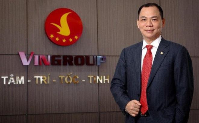 Chủ tịch Vingroup Phạm Nhật Vượng