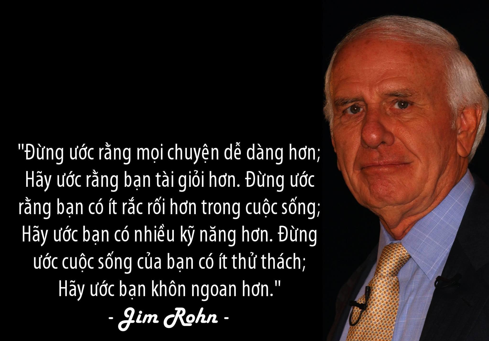 Jim Rohn là ai? Bạn cần biết gì?