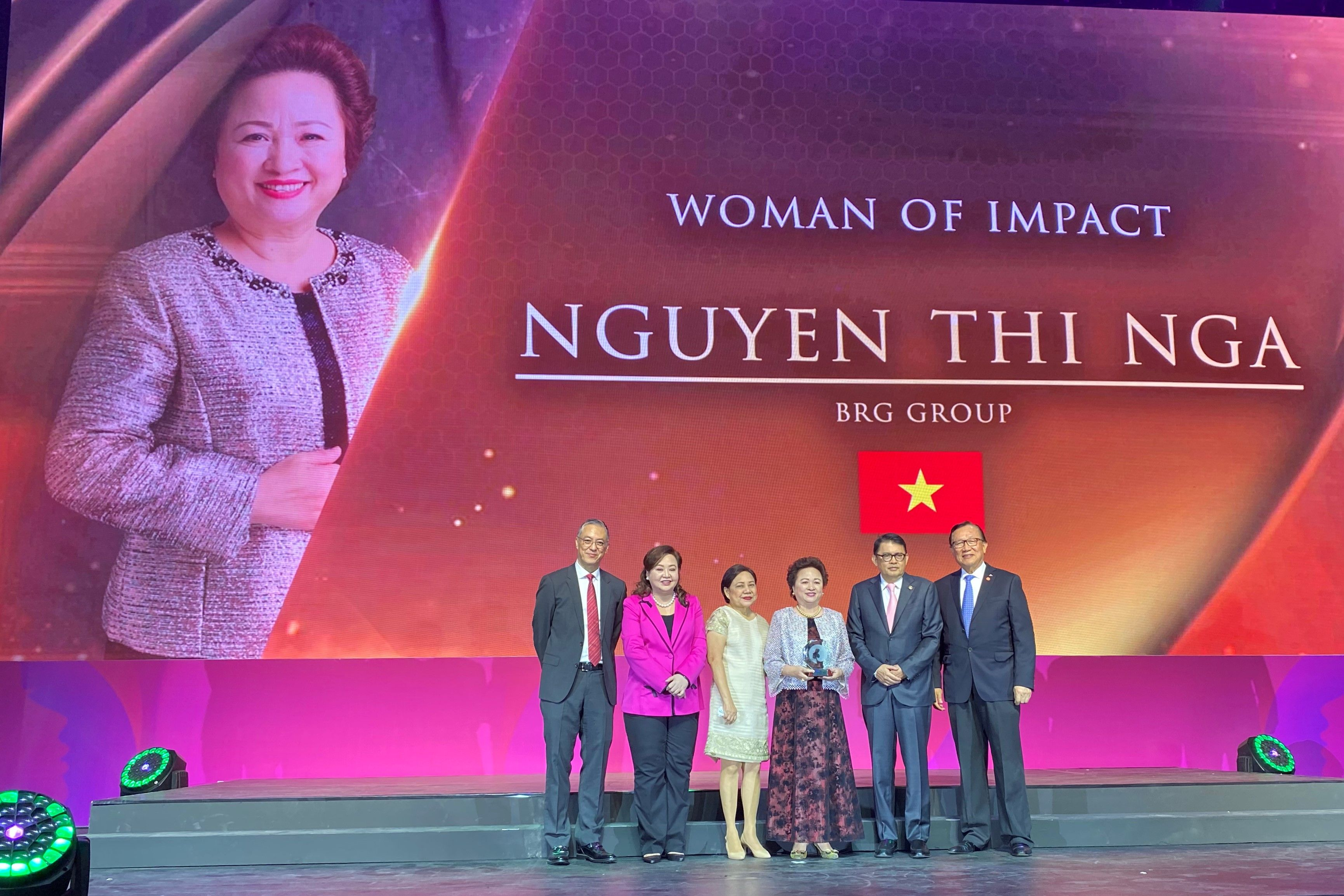 Doanh nhân Nguyễn Thị Nga thông tin tiểu sử